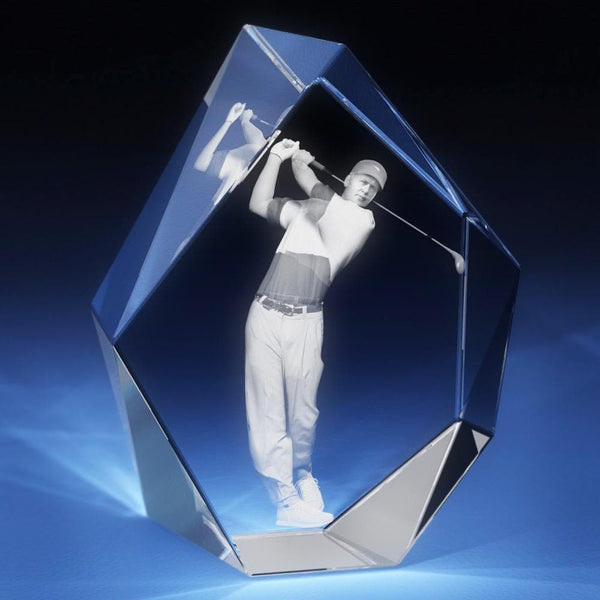 Golf (M) Crystal 3D Gifts