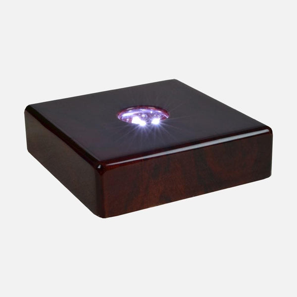 Light Base - Rosewood Light Base 3D Gifts S