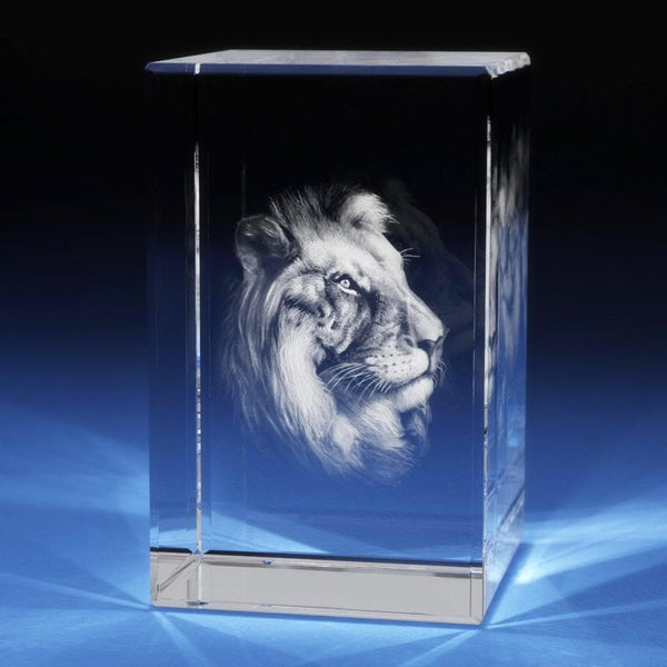 Lion Crystal 3D Gifts