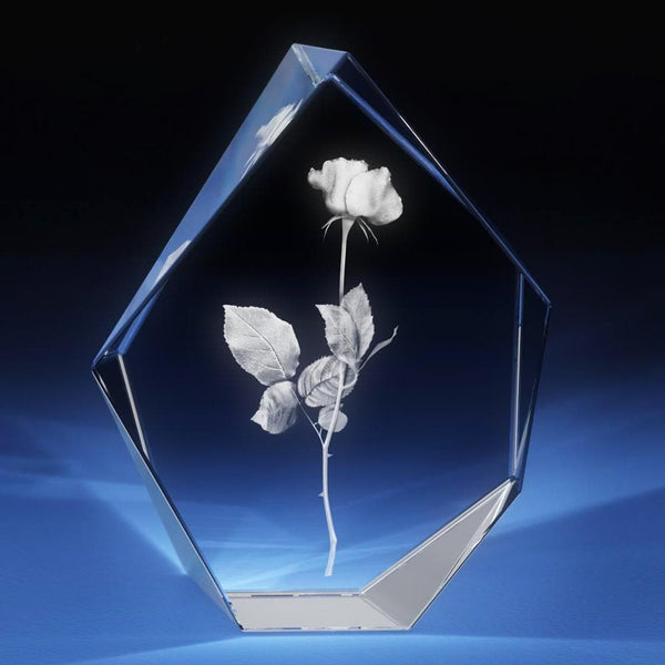 Rose Crystal 3D Gifts