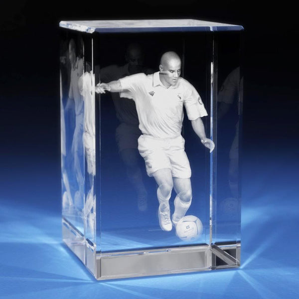 Soccer Crystal 3D Gifts
