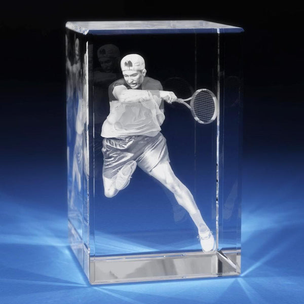 Tennis Crystal 3D Gifts