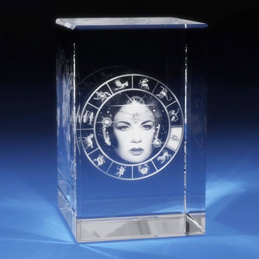Virgo Crystal 3D Gifts