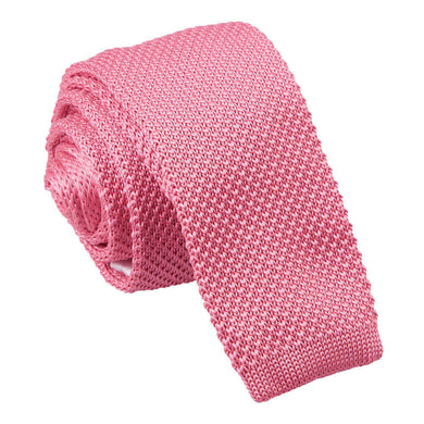 Knitted Strawberry Pink Tie