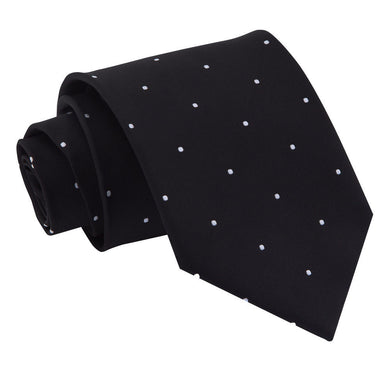 Pin Dot Black Tie
