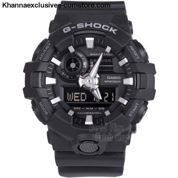 Casio G-SHOCK Mens Quartz Sports Cool Comfortable Resin Strap Waterproof g shock Wrist Watch - GA7001B-A - Casio watch G-SHOCK Mens Quartz