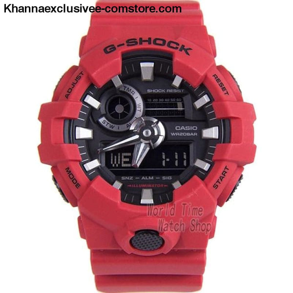 Casio G-SHOCK Mens Quartz Sports Cool Comfortable Resin Strap Waterproof g shock Wrist Watch - GA7004A-A - Casio watch G-SHOCK Mens Quartz