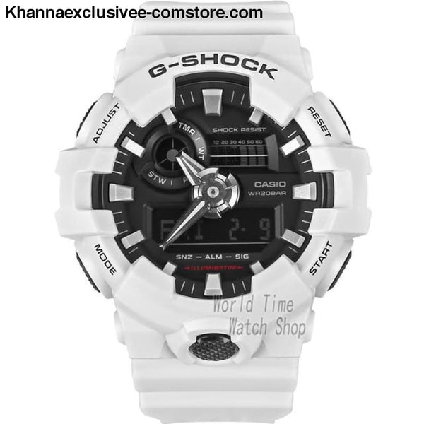 Casio G-SHOCK Mens Quartz Sports Cool Comfortable Resin Strap Waterproof g shock Wrist Watch - GA7007A-A - Casio watch G-SHOCK Mens Quartz