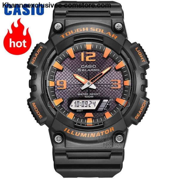 Casio Watch Analogue Mens Quartz Sports Watch Casual Trend Student Watch Aq-S810 - Casio Watch Analogue Mens Quartz Sports Watch Casual