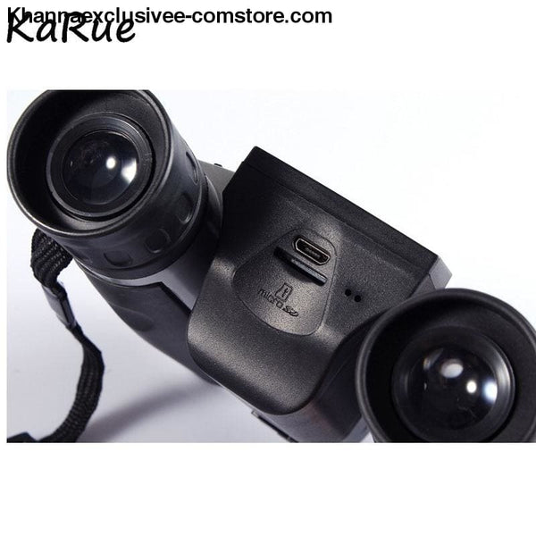 Digital Professional 12x32 HD 1080P Binocular Telescope Camera 5 MP 2.0 Display Video Camera - Digital Professional 12x32 HD 1080P Binocular
