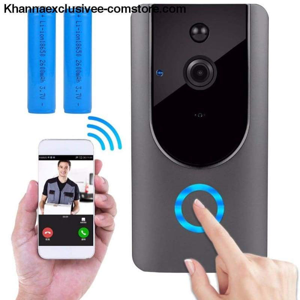 Ip Video Intercom Wifi Two-Way Audio Night Vision Pir Motion Detection Home Security Camera Doorbell - Ip Video Intercom Wifi Smart Two-Way