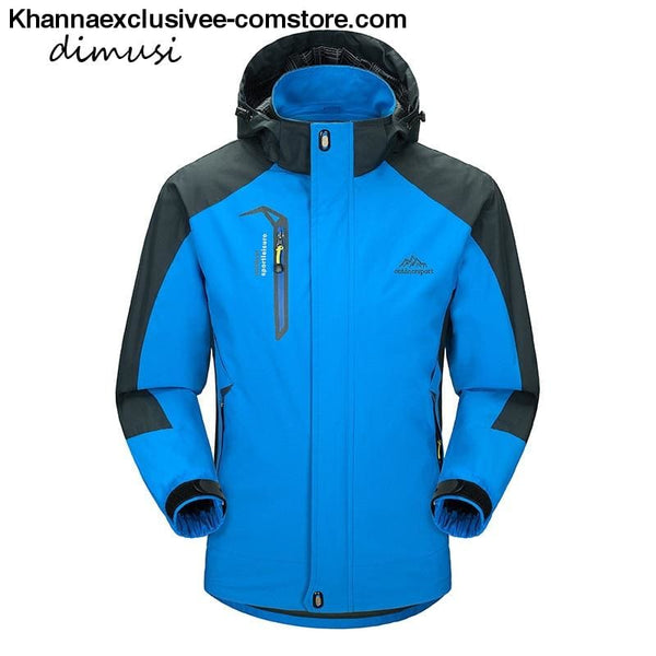 Mens Army Waterproof Windbreaker Breathable UV protection Overcoat jacket till 5XL - Mens Spring Autumn Army Waterproof Windbreaker