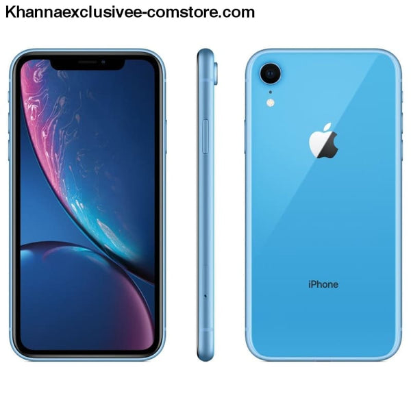 New Apple iPhone XR 6.1 Liquid Retina All Screen 4G LTE FaceID 12MP Camera Waterproof Mobile - Brand New Apple iPhone XR 6.1 Liquid Retina