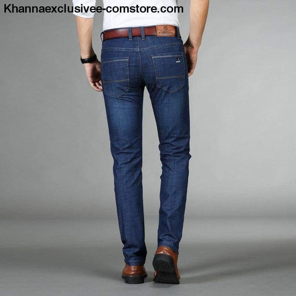 New Arrival Biker Casual Jeans Classic Slim Mens Trousers Male Pants - New Arrival Biker Casual Jeans Classic Slim Mens Trousers Male Pants