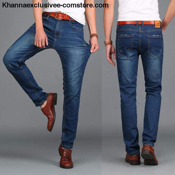New Hot Fashion Designer Lance Donovan Mens Jeans Famous Brand HIGH QUALITY Denim Trousers - New Hot Fashion Designer Mens Jeans Famous