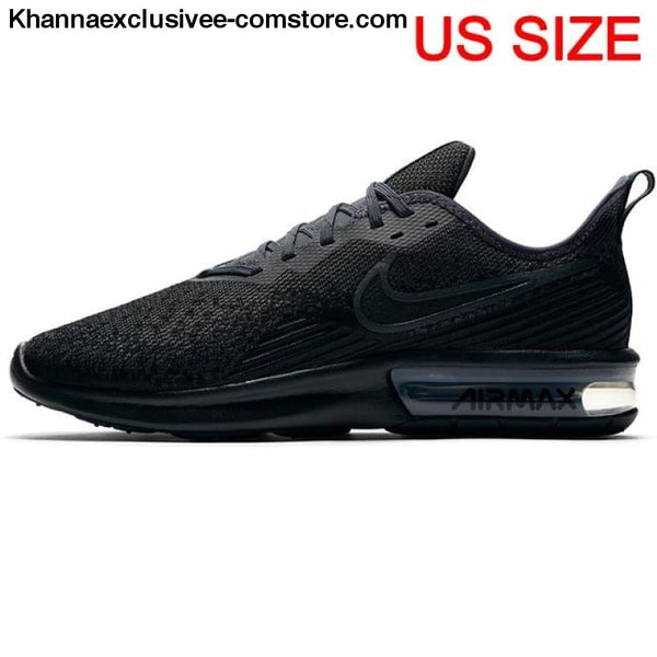 100% authentic f272e d57fe Original New Arrival 2018 NIKE AIR MAX SEQUENT 4 Men's Running Shoes  Sneakers