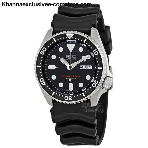Original Seiko Mens Divers Analog Japan Automatic Stainless Steel Wrist Watch - SKX007J1-A - Seiko Mens Divers Analog Japan Automatic