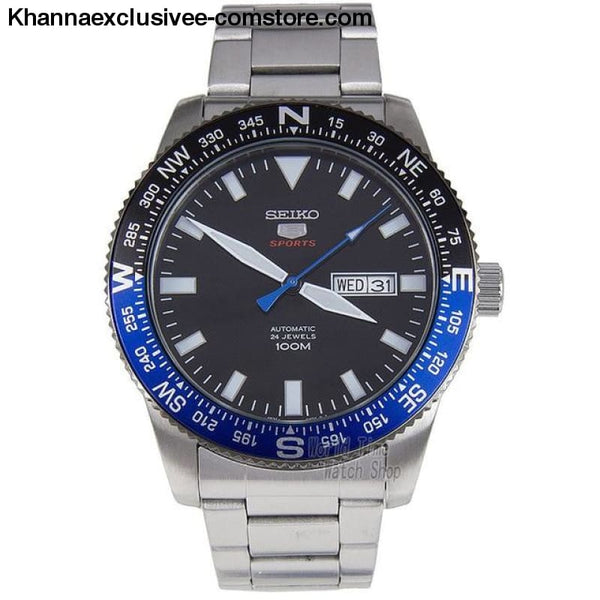Original Seiko Mens Divers Analog Japan Automatic Stainless Steel Wrist Watch - SRP659J1-A - Seiko Mens Divers Analog Japan Automatic