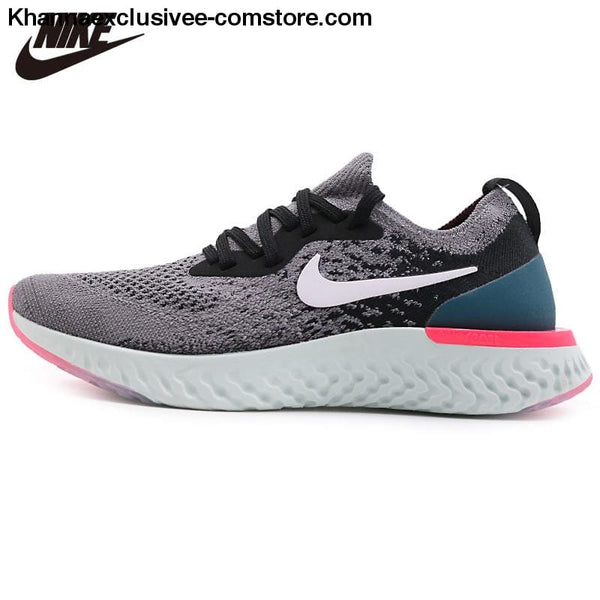 Original WMNS NIKE EPIC REACT FLYKNIT Womens Running Shoe Stylish Athletic Shock Damping Sneaker - Original WMNS NIKE EPIC REACT FLYKNIT