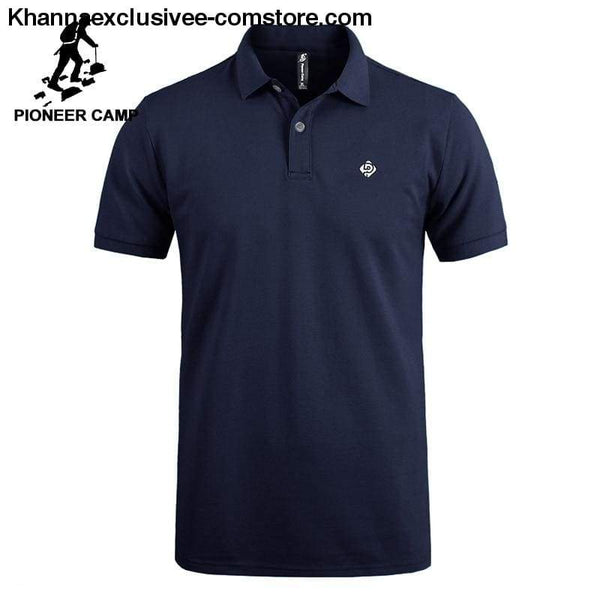 Pioneer Camp Polo shirts mens brand office quality 100% cotton casual summer polo - Pioneer Camp Polo shirts mens brand office quality 100%