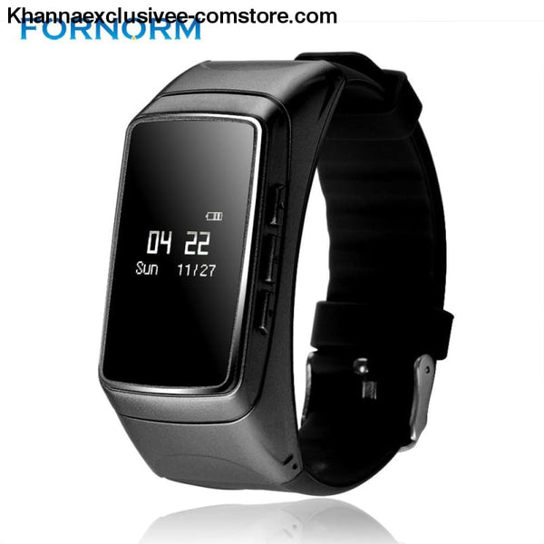 Smartwatch Sports Bracelet Bluetooth Fitness Tracker Heart Rate Monitor Pedometer Handsfree Call - Smart Wristband Sports Bracelet Bluetooth