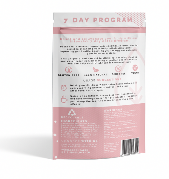 GIRLBOSS 7 DAY & 21 DAY DETOX TEA COMBO