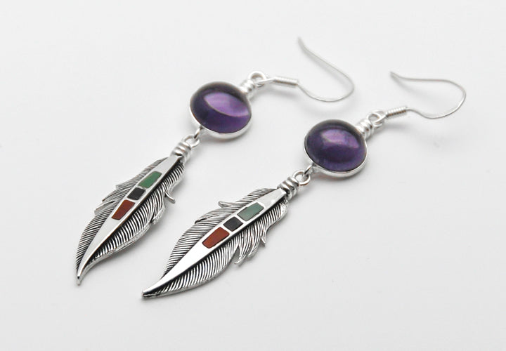 Holy Feather Earring - - Earrings