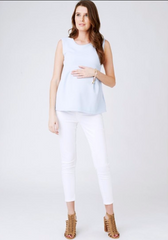 La Belle Bump maternity work outfit