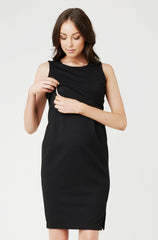 La Belle Bump Nursing dress for breastfeeding