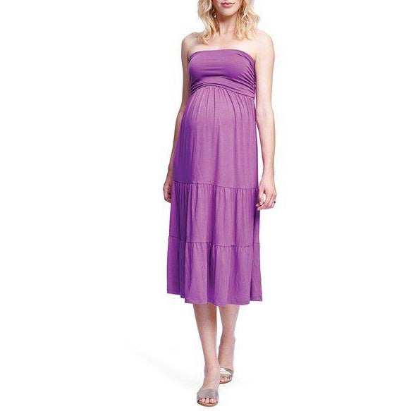 Maternal America Convertible Strapless Dress