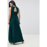 The Taj: Cut Out Back Maxi