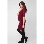 Ripe Maternity Elbow Sleeve Cocoon Dress