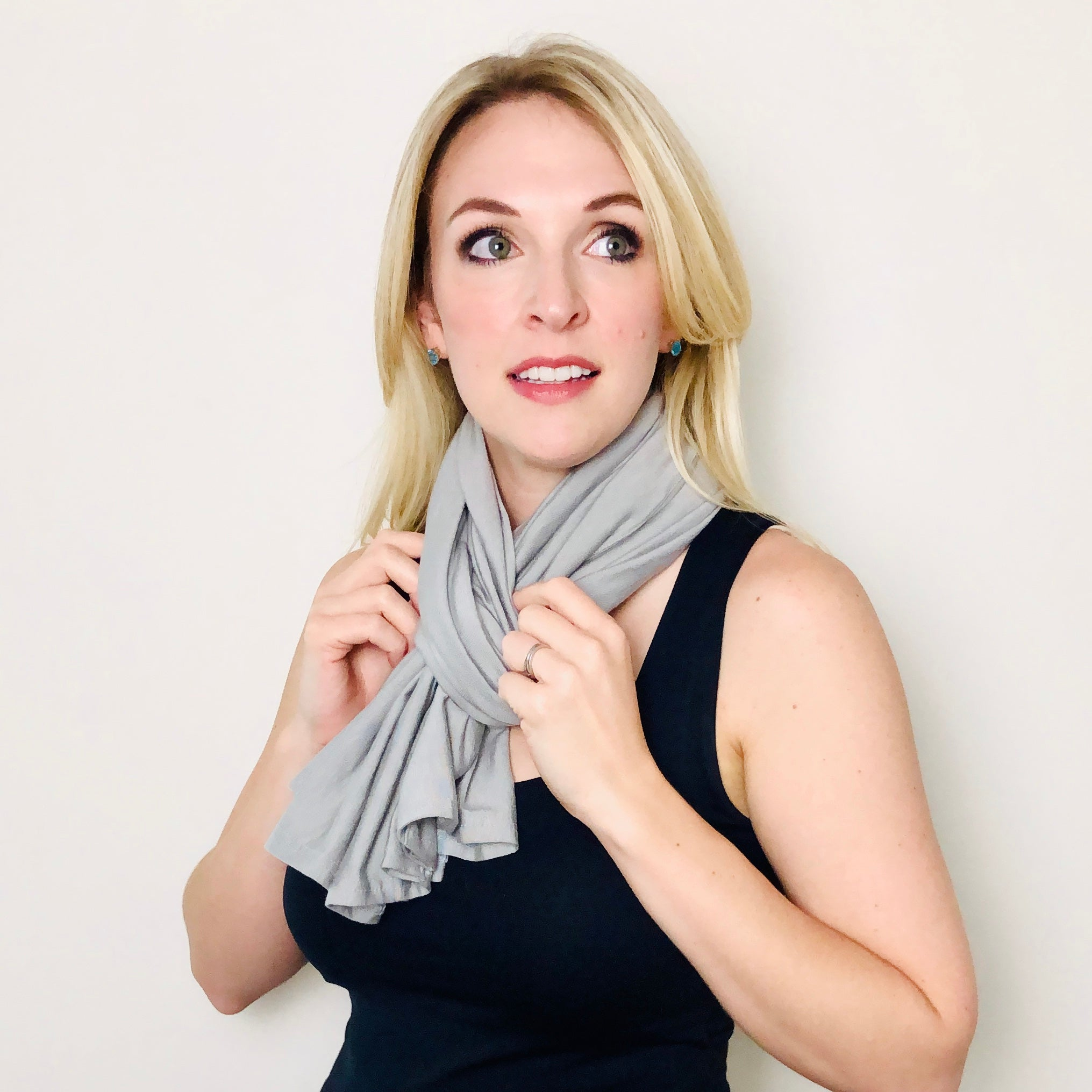 Mina & Vine Nursing Scarf - Solids Collection