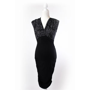 Formal Black Nursing Dress