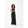 Black Classic Floor Length Dress