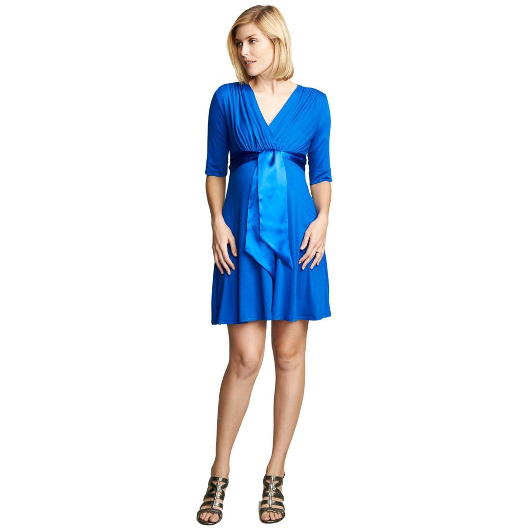 Maternal America Front Tie Dress