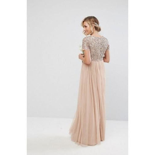 Delicate Sequin & Tulle Dress