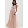 The Flora: Embroidered Maxi
