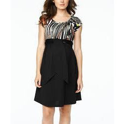 Maternal America Scoop Tie Front Dress