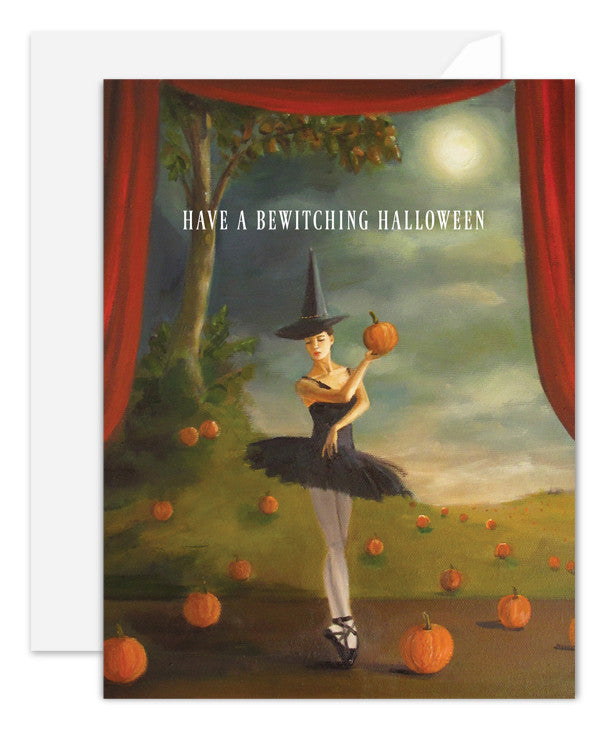 Dance of the Pumpkin Patch Card
