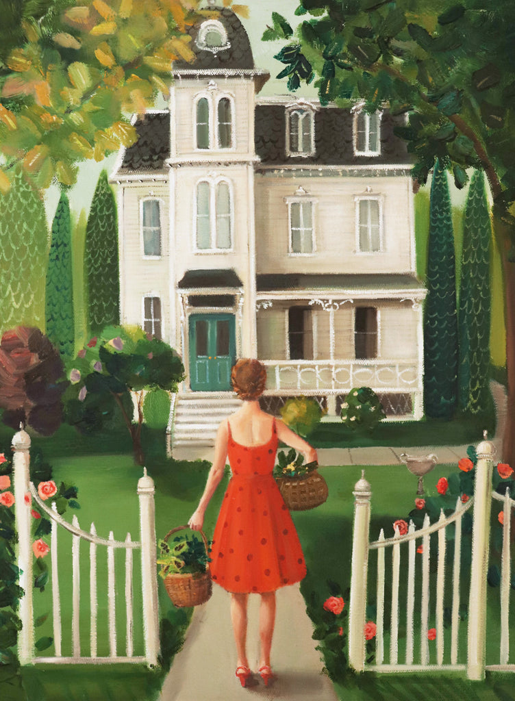 Lucy Crisp and the Vanishing House. Art Print from the novel Lucy Crisp and the Vanishing House