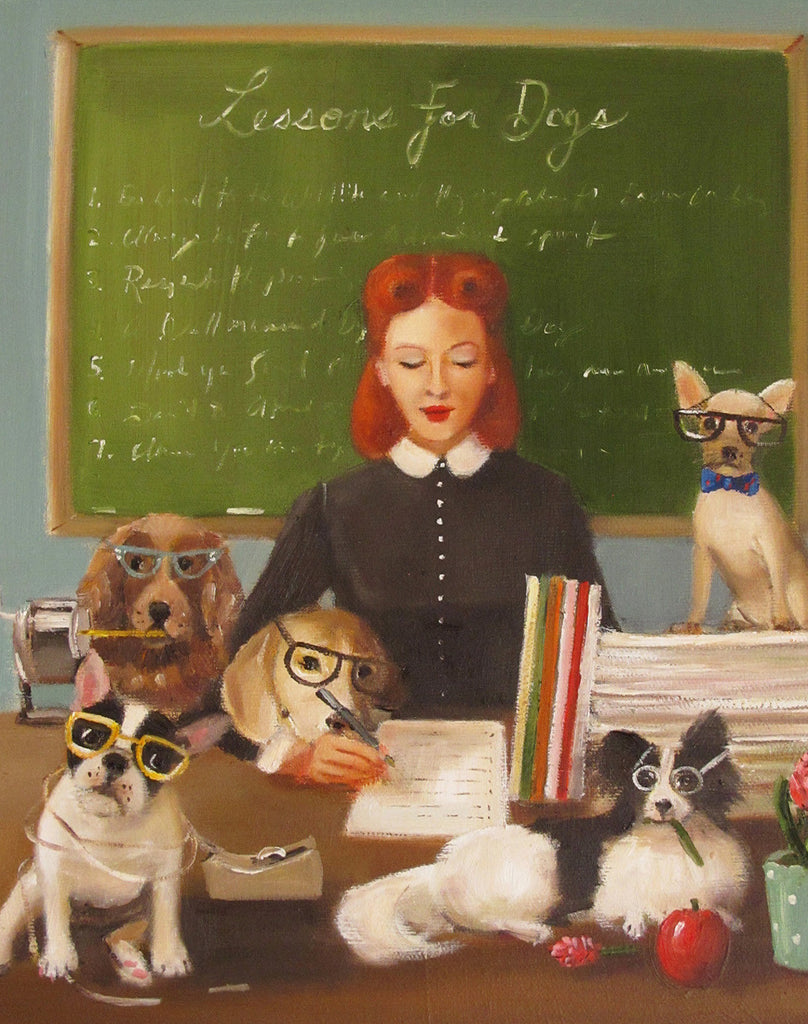 Miss Moon Was A Dog Governess. Lesson Seven