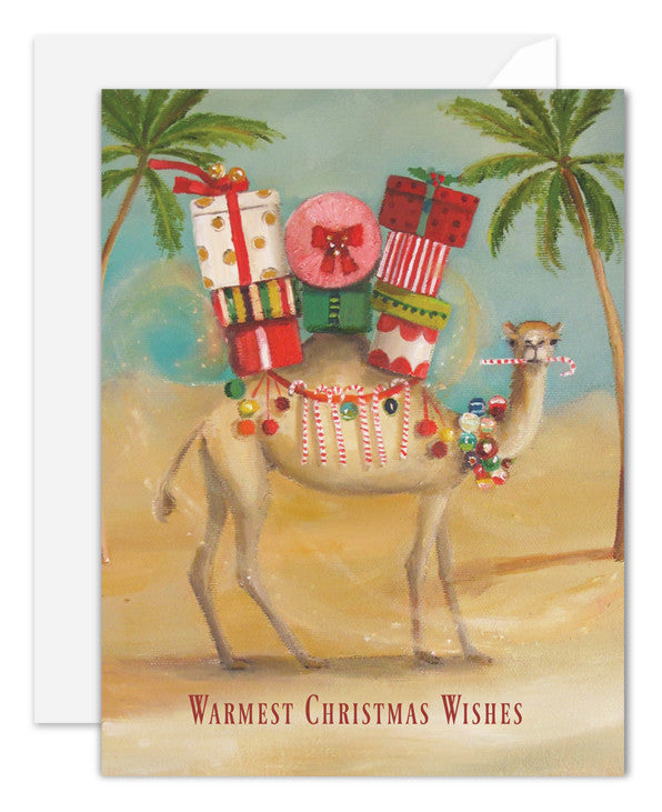 The Christmas Camel Card