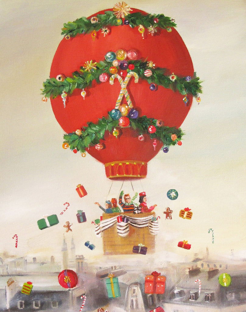 The Peppermint Family Christmas Balloon Ride