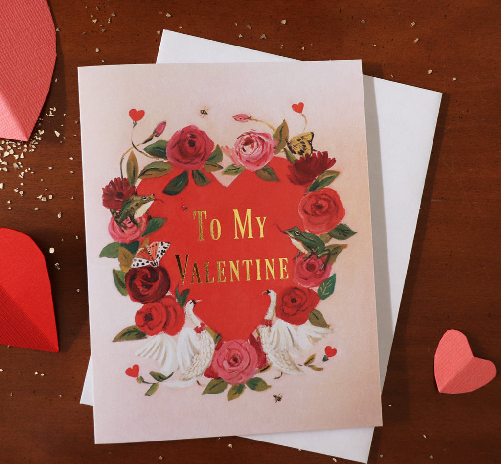 To My Valentine Card. JH1199