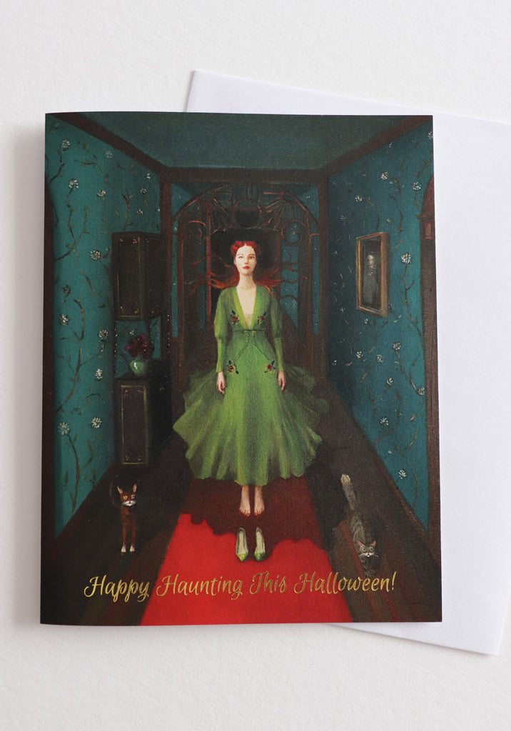 Happy Haunting This Halloween Card