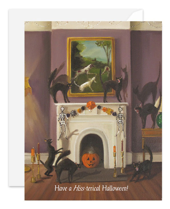 Have A Hiss-terical Halloween Card