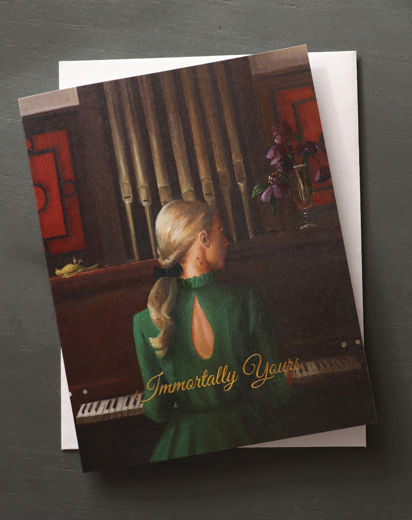 Immortally Yours Card. JH1198