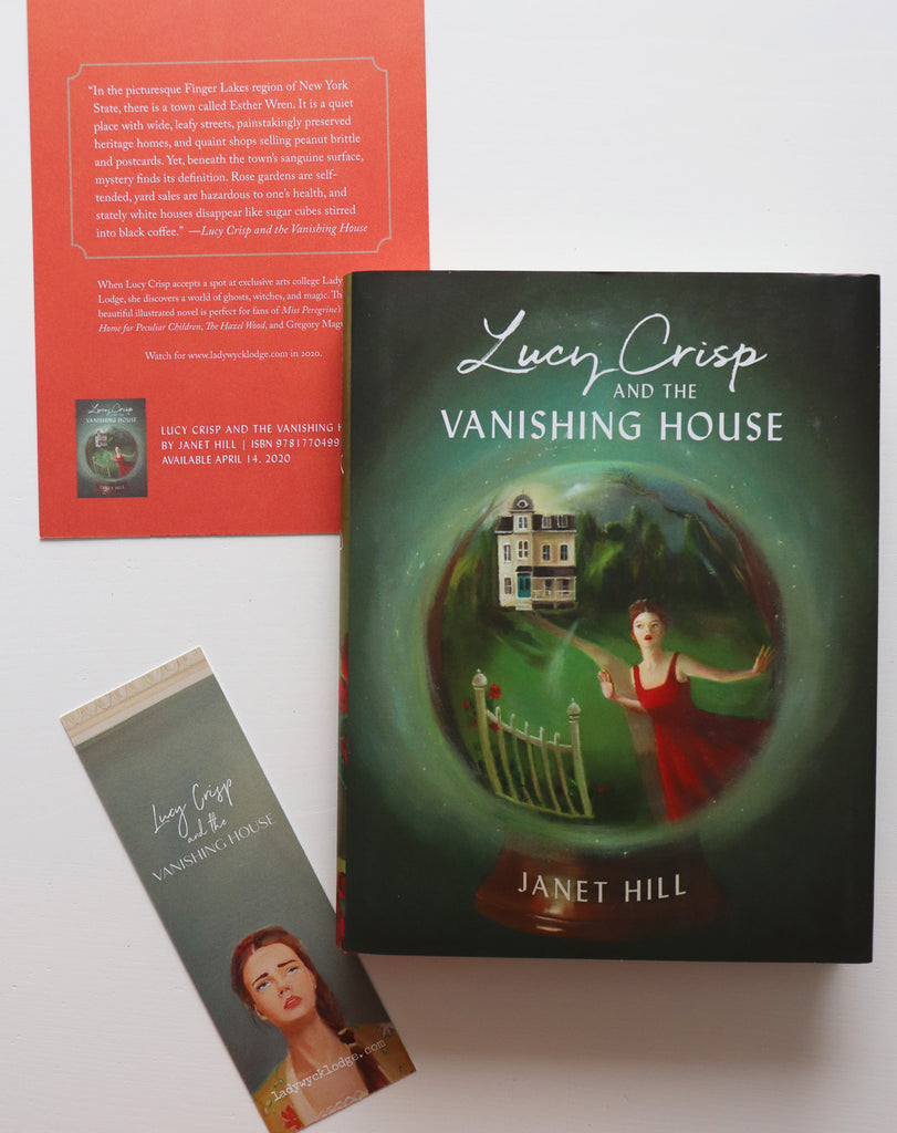 Lucy Crisp and The Vanishing House. Signed Copy.