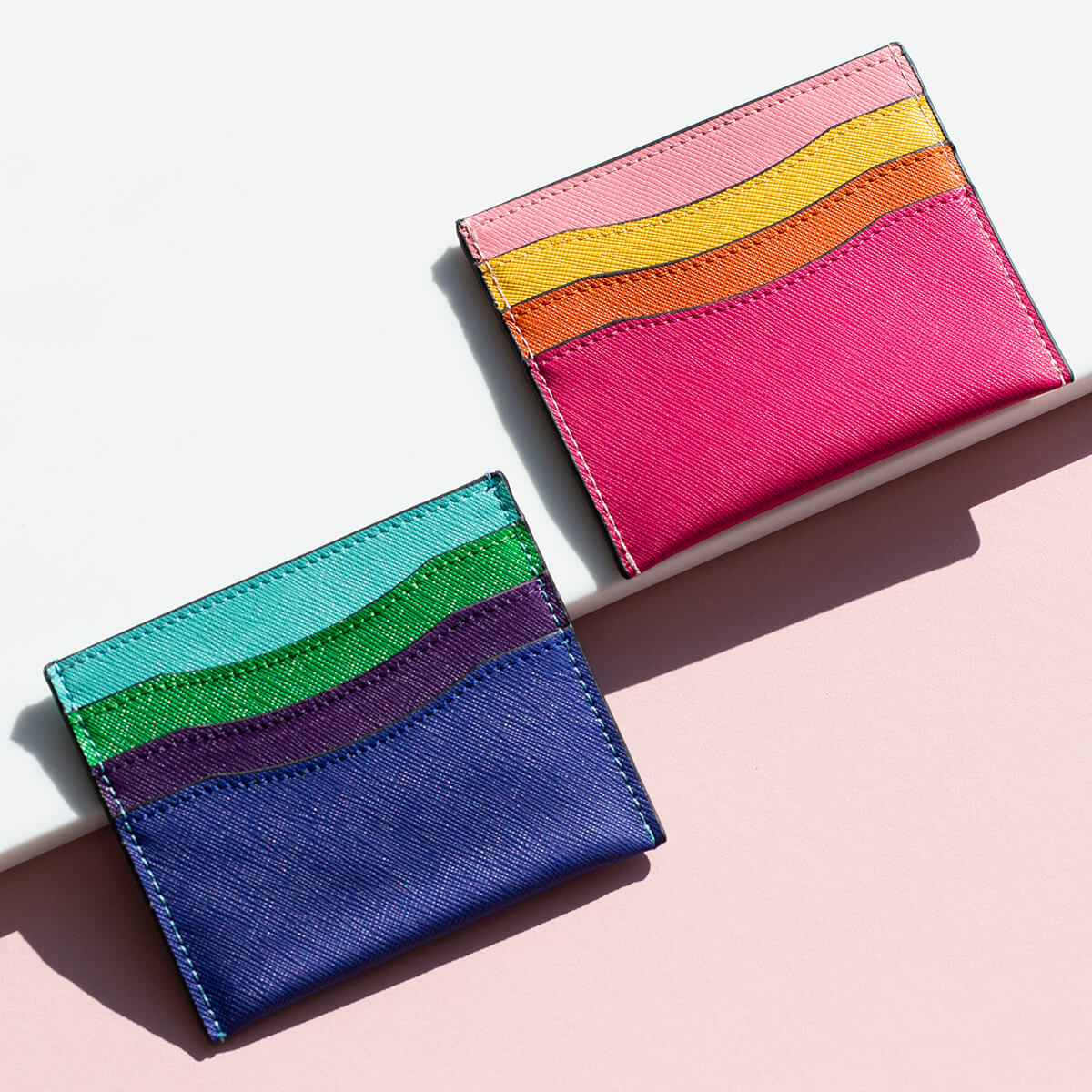Colourful Combinations Card Holder